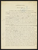 """view Typescripts of """"expedition to Brazil,"""" circa 1935, """"frog collecting in Brazil,"""" 1935, and """"the dragon lizard of Komodo,"""" digital asset number 1"""