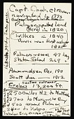 view Palmer Peninsula (Antarctica) Survey, 1962-1963 : miscellaneous notes (2 of 4) digital asset number 1
