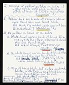 view Palmer Peninsula (Antarctica) Survey, 1962-1963 : miscellaneous notes (4 of 4) digital asset number 1