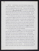 view Foshag, William F, Field notes, May 21-August 1943, Typed copy digital asset number 1
