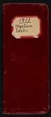 view Field notes, Montana and Idaho, June 23-September 8, 1911 digital asset number 1