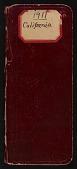 view Field notes, California, September 8-October 24, 1911 digital asset number 1