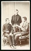 view Clarence King, Arnold Hague and Samuel Franklin Emmons digital asset number 1