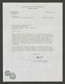 view Letter from Wm. W Huber to Theodore H. Reed digital asset number 1