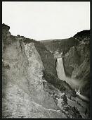 view Waterfalls - Yellowstone Falls (lava flow) digital asset number 1