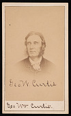 view Portrait of George William Curtis (1824-1892) digital asset number 1