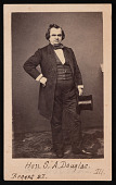 view Portrait of Stephen Arnold Douglas (1813-1861) digital asset number 1