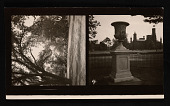 view Automobiles; Andrew Jackson Downing Urn on Smithsonian Grounds digital asset number 1
