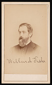 view Portrait of Willard Fiske (1831-1904) digital asset number 1