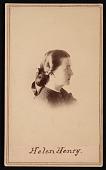 view Portrait of Helen Louisa Henry (1836-1912) digital asset number 1