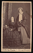 view Portrait of Caroline Henry (1839-1920) and Mary Anna Henry (1834-1903) digital asset number 1