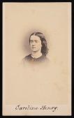 view Portrait of Caroline Henry (1839-1920) digital asset number 1