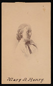 view Portrait of Mary Anna Henry (1834-1903) digital asset number 1