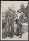 view Portrait of David Horn Johnson (1912-1996) and Waldo LaSalle Schmitt (1887-1977) digital asset number 1