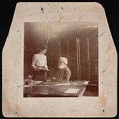 view Portrait of William Jones Rhees (1830-1907) and Helen Munroe (1872-1962) digital asset number 1