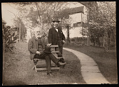 view Portrait of Robert Ridgway (1850-1929) and William Brewster (1851-1919) digital asset number 1