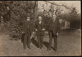 view Group Portrait of Robert Ridgway, Bradshaw Hall Swales, and Charles Wallace Richmond digital asset number 1