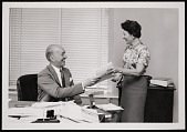 view Portrait of Secretary S. Dillon Ripley (1913-2001) with Administrative Aide digital asset number 1