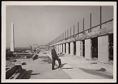 view Construction of Museum of History and Technology - Frank Augustus Taylor on 5th Floor Terrace digital asset number 1