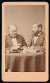view Portrait of Jean Louis Rodolphe Agassiz (1807-1873) and Louis Francois de Pourtales (1824-1880) digital asset number 1