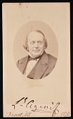 view Portrait of Jean Louis Rodolphe Agassiz (1807-1873) digital asset number 1