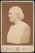 view Bust of Jean Louis Rodolphe Agassiz (1807-1873) digital asset number 1