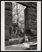 view Seneca Quarry, Removal of Stone for South Gate of Smithsonian Institution Building, or Castle digital asset number 1