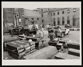 view Salvage of Stone for South Gate of Smithsonian Institution Building, or Castle digital asset number 1