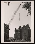 view Quadrangle Construction - Broken Jib on Crane digital asset number 1