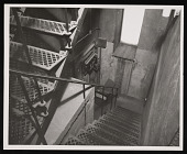 view Stairway, East Tower North, Smithsonian Institution Building, or Castle digital asset number 1