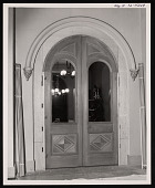 view Construction and Installation of Victorian Doors, Smithsonian Institution Building, or Castle digital asset number 1