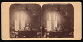 view Henry Apartments, East Wing, Smithsonian Institution Building, or Castle - Dining Room digital asset number 1