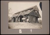 view National Zoological Park Buildings, Buffalo and Elk Barn - Exterior View digital asset number 1