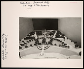 "view ""The Federal City: Plans and Realities"" Exhibition Model, Smithsonian Institution Building, or Castle digital asset number 1"