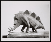 view Division of Paleontology, Miniature Model of a Stegosaurus digital asset number 1