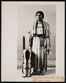 view Ethnology Exhibit, Natural History Building? - Figure of Rosa White Thunder, Sioux Woman digital asset number 1