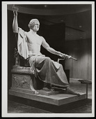 view Horatio Greenough Statue of George Washington, Museum of History and Technology digital asset number 1