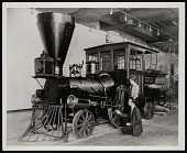 """view """"Pioneer"""" Locomotive, Museum of History and Technology digital asset number 1"""
