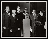 view Presentation of Bronze Bust of General James H. Doolittle to National Air Museum digital asset number 1