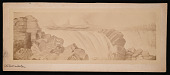 view Painting by Benjamin Waterhouse Hawkins - Devonian Life of the Old Red Sandstone digital asset number 1