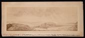 view Painting by Benjamin Waterhouse Hawkins - Silurian Shore at Low Tide digital asset number 1