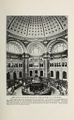 view The public reading room in the Library of Congress from Thirty years in Washington. digital asset number 1