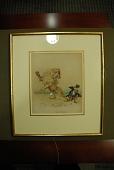 "view Griset, Ernest Henry, 1844-1907, artist. Watercolor painting, ""I beg your pardon!"" digital asset: Griset, Ernest Henry, 1844-1907, artist. Watercolor painting, ""I beg your pardon!"""