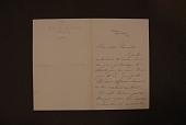 "view Du Chaillu, Paul B. (Paul Belloni), 1835-1903. Autograph letter signed to Mrs. John R. Drexel, from ""Wooton,"" Bryn Mawr, Pennsylvania digital asset: Du Chaillu, Paul B. (Paul Belloni), 1835-1903. Autograph letter signed to Mrs. John R. Drexel, from ""Wooton,"" Bryn Mawr, Pennsylvania"