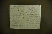 view Selous, Frederick Courteney, 1851-1917. Autograph letter signed to Mr. Colles, Surrey digital asset: Selous, Frederick Courteney, 1851-1917. Autograph letter signed to Mr. Colles, Surrey