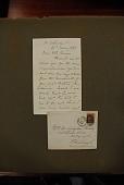 view Stanley, Henry M. (Henry Morton), 1841-1904. Autograph letter signed to Mrs. Bruce (formerly Agnes Livingstone), from 30 Sackville Street digital asset: Stanley, Henry M. (Henry Morton), 1841-1904. Autograph letter signed to Mrs. Bruce (formerly Agnes Livingstone), from 30 Sackville Street