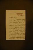 view Stanley, Henry M. (Henry Morton), 1841-1904. Autograph letter signed to Major James B. Pond, 2 Richmond Terrace digital asset: Stanley, Henry M. (Henry Morton), 1841-1904. Autograph letter signed to Major James B. Pond, 2 Richmond Terrace