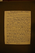 """view Stanley, Henry M. (Henry Morton), 1841-1904. Agreement written in Stanley's hand for James B. Pond to use and have notarized: """"Declaration to be something in this form, brief and to the point"""" digital asset: Stanley, Henry M. (Henry Morton), 1841-1904. Agreement written in Stanley's hand for James B. Pond to use and have notarized: """"Declaration to be something in this form, brief and to the point"""""""