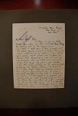 """view Ward, Herbert, 1863-1919. Autograph letter signed to Major J.B. Pond, written from """"6 Carlton House Terrace, Pall Mall, London"""" digital asset: Ward, Herbert, 1863-1919. Autograph letter signed to Major J.B. Pond, written from """"6 Carlton House Terrace, Pall Mall, London"""""""