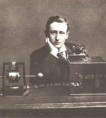 view Portrait of Guglielmo Marconi from Scientific Identity: Portraits from the Dibner Library of the History of Science and Technology. digital asset number 1